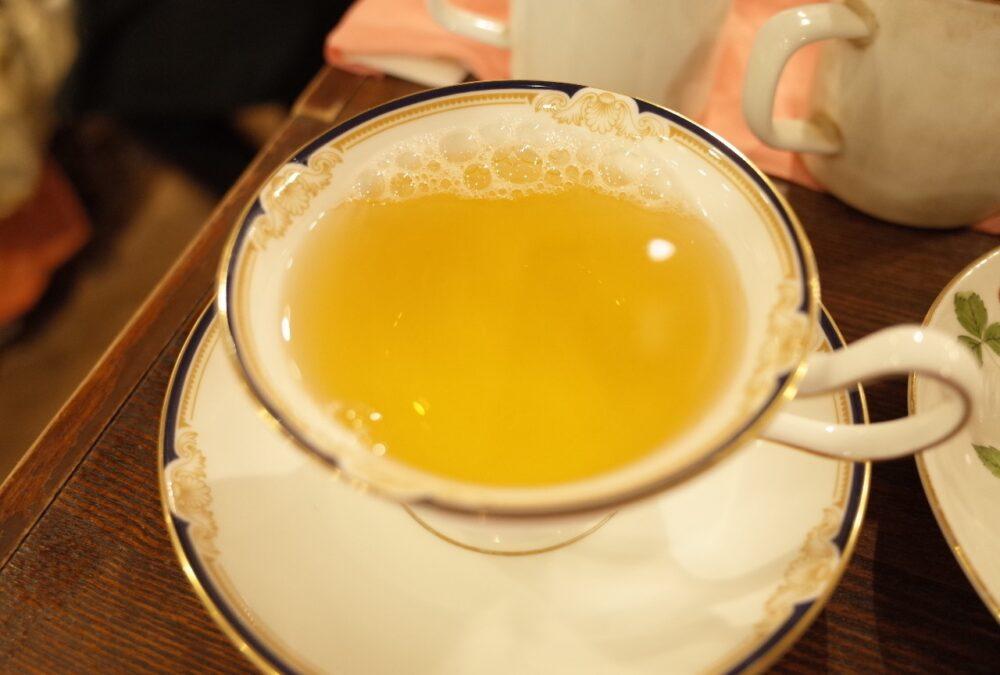 テイスティングした紅茶