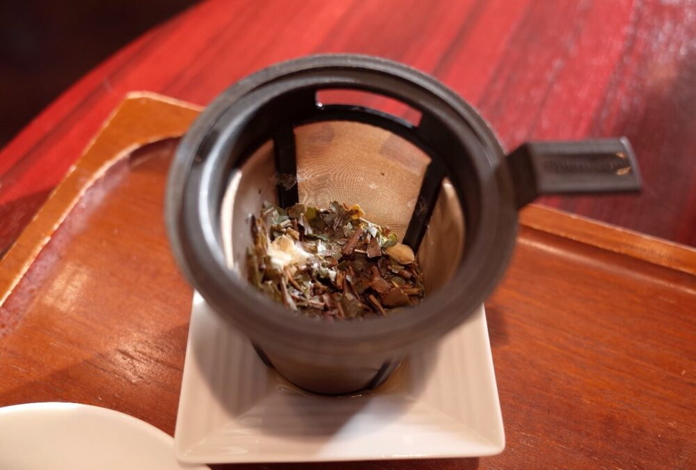 茶葉の様子