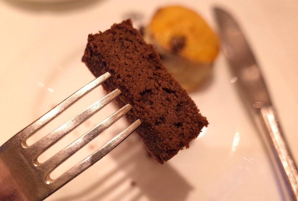 一口のチョコレートパウンドケーキ