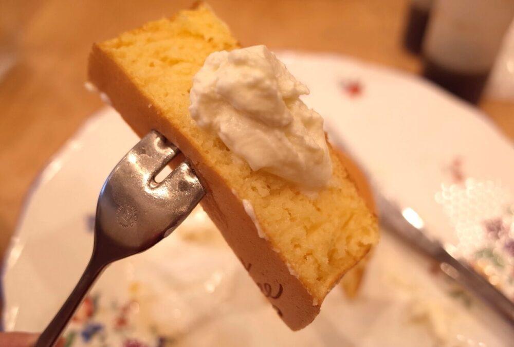 一口の究極のホットケーキ