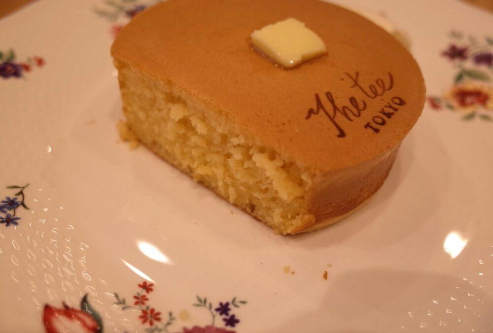 究極のホットケーキの断面