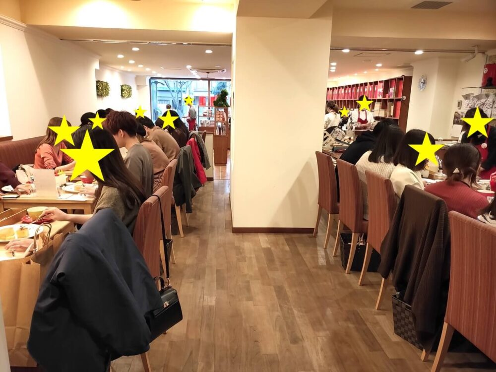The tee Tokyoさん店内