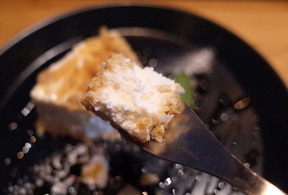一口の自家製レアチーズケーキ