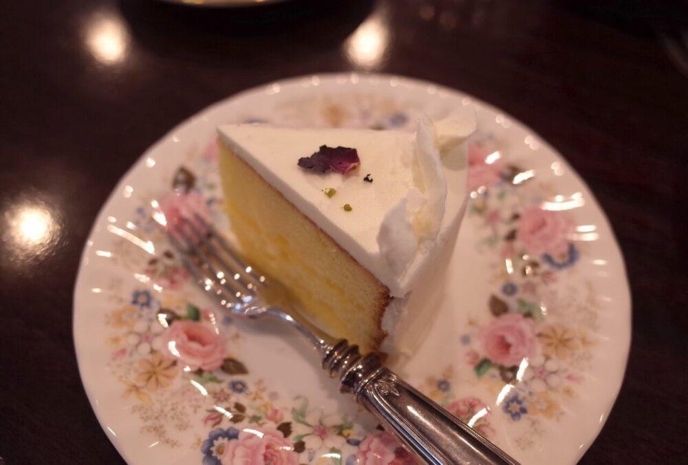 エルダーフラワーのレモンケーキ