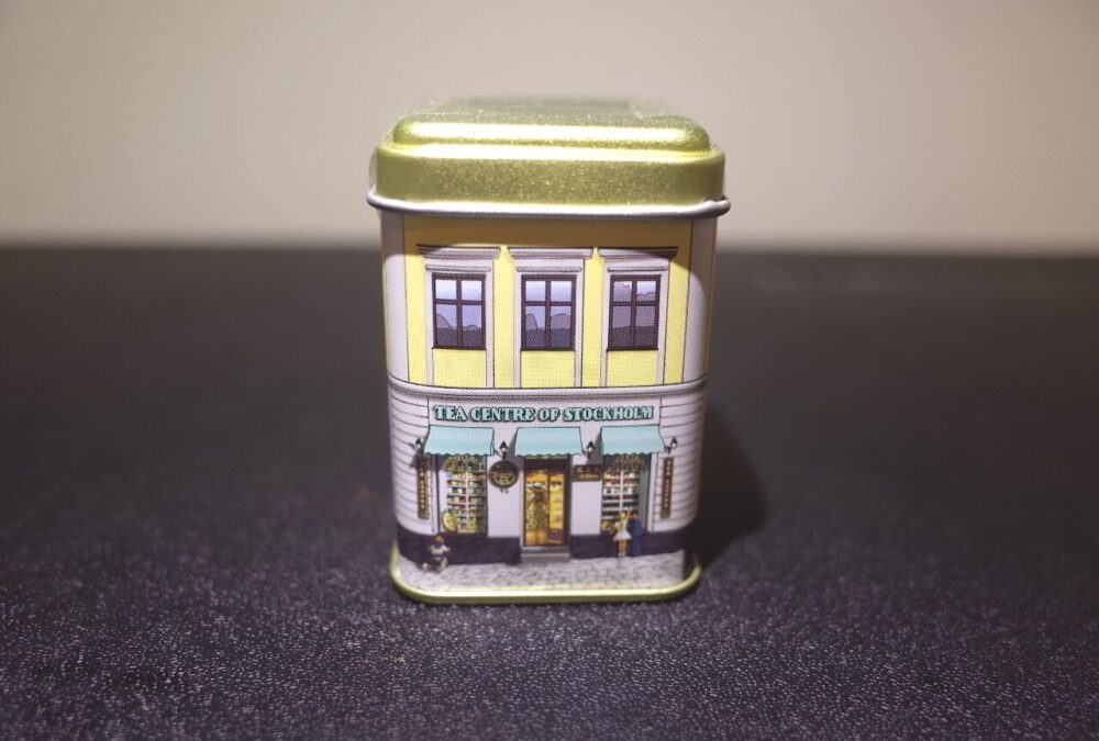 ティーセンターブレンドの紅茶缶